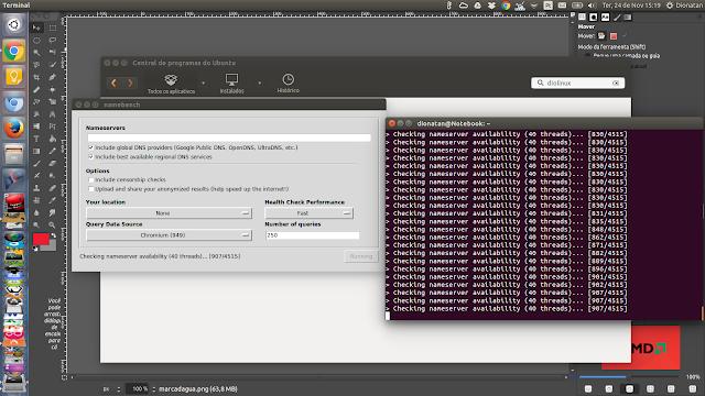 NameBench Ubuntu
