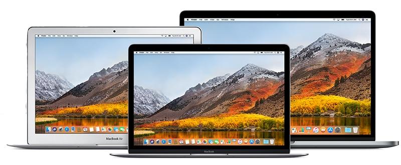 MacBooks Line 2017