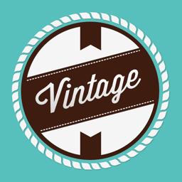 Vintage Design app icon: Create Logo
