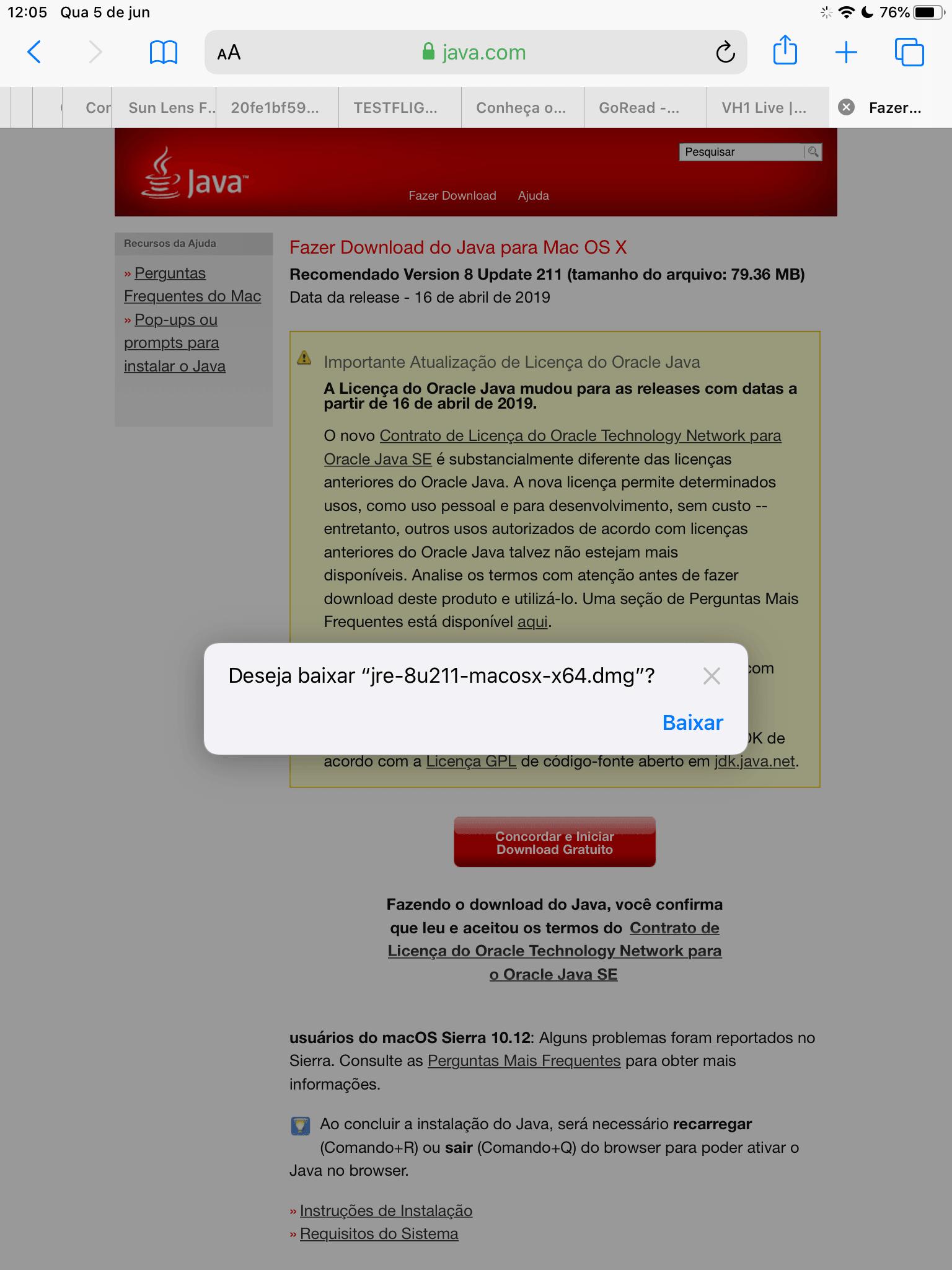 Safari 13 Download Manager