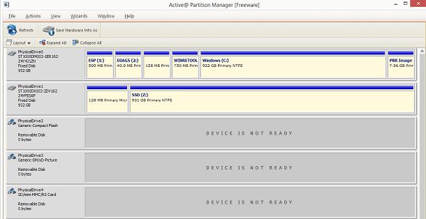 active partition pc