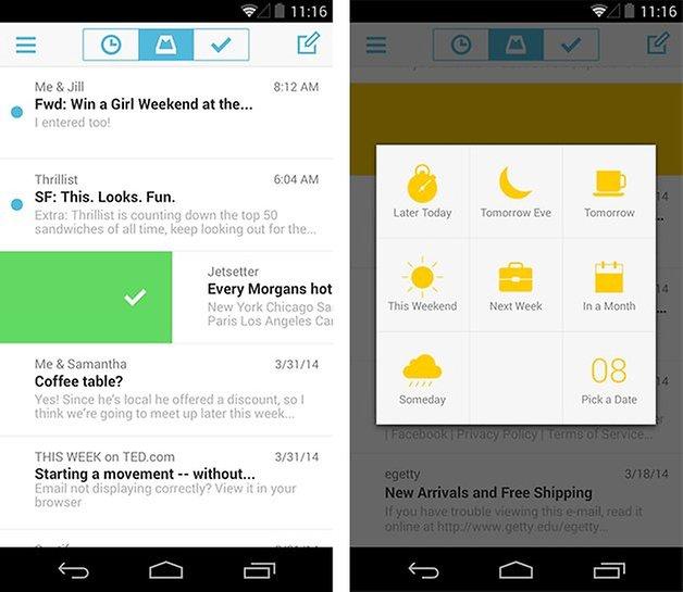 Mailbox dropbox android