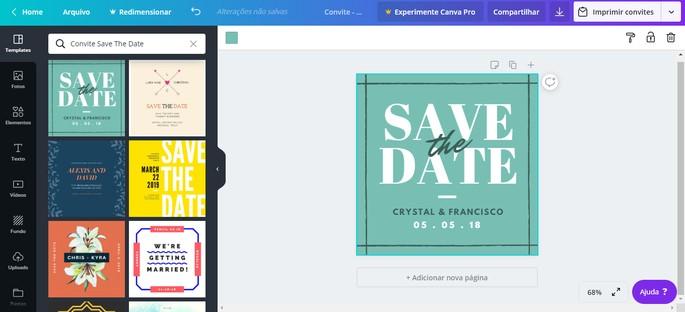Canva Invitation Online