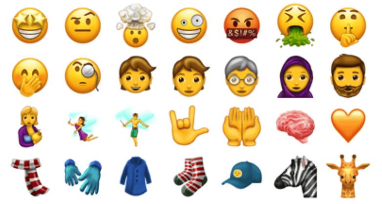 unicode emojis ten one