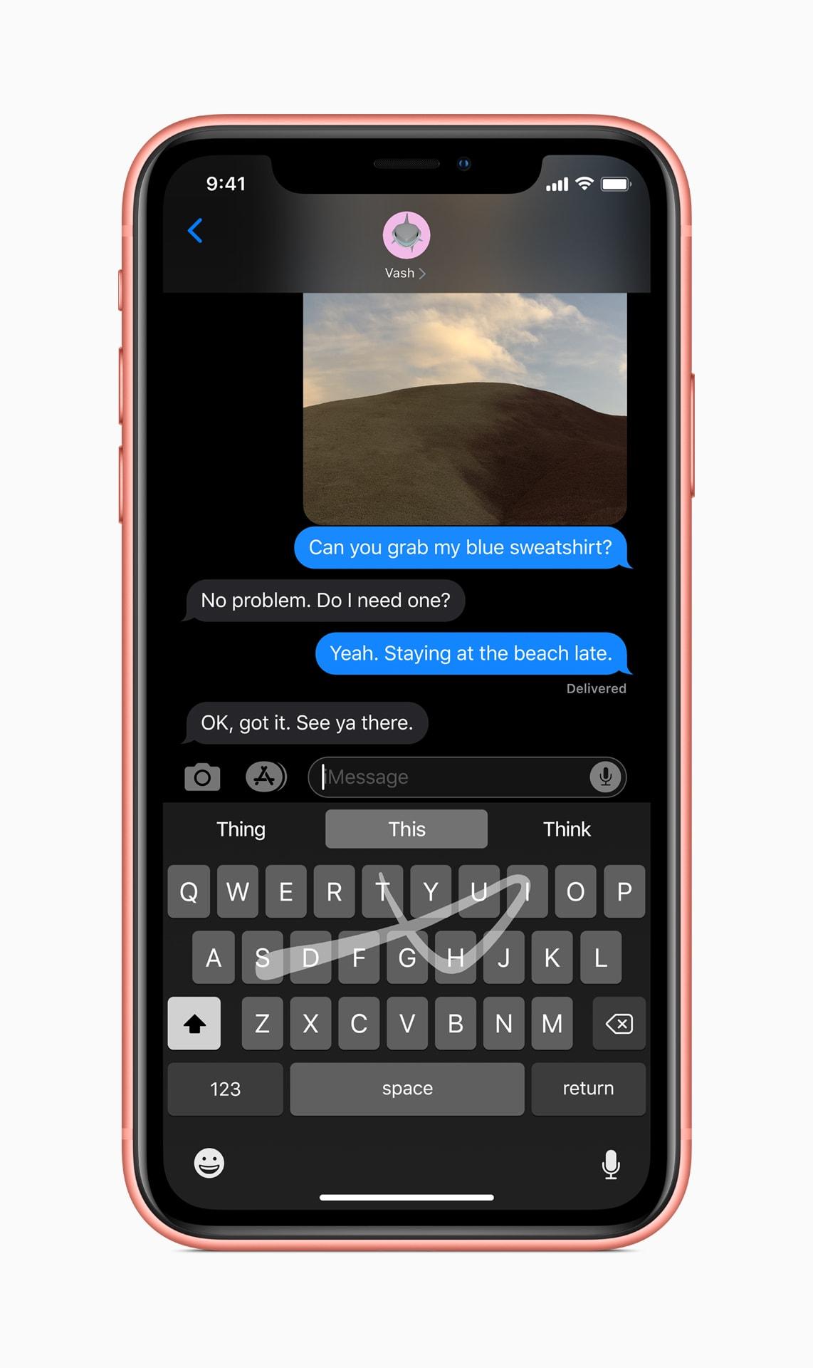 QuickPath on iOS 13 Keyboard