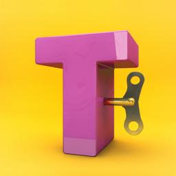 Typotastic app icon! 3D source videos