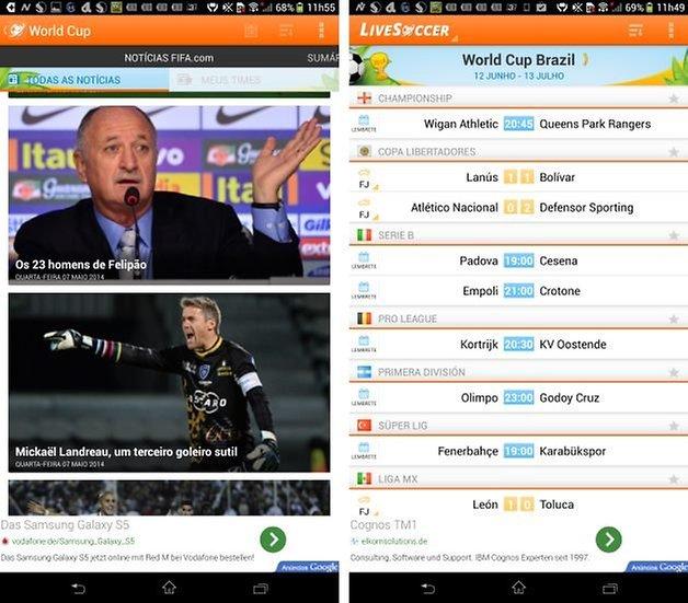Screenshot 1 livesoccer