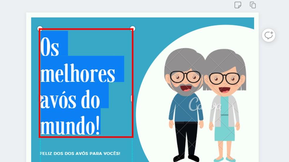 Edit design phrases Photo: Reproduo / Paulo Alves