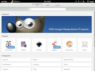 Gnome Software Center