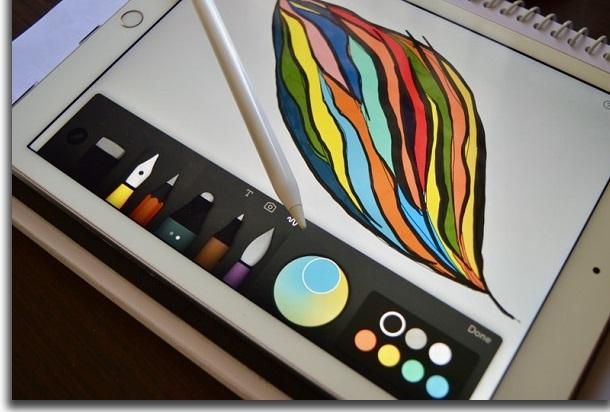 avoid apple pencil on ipad
