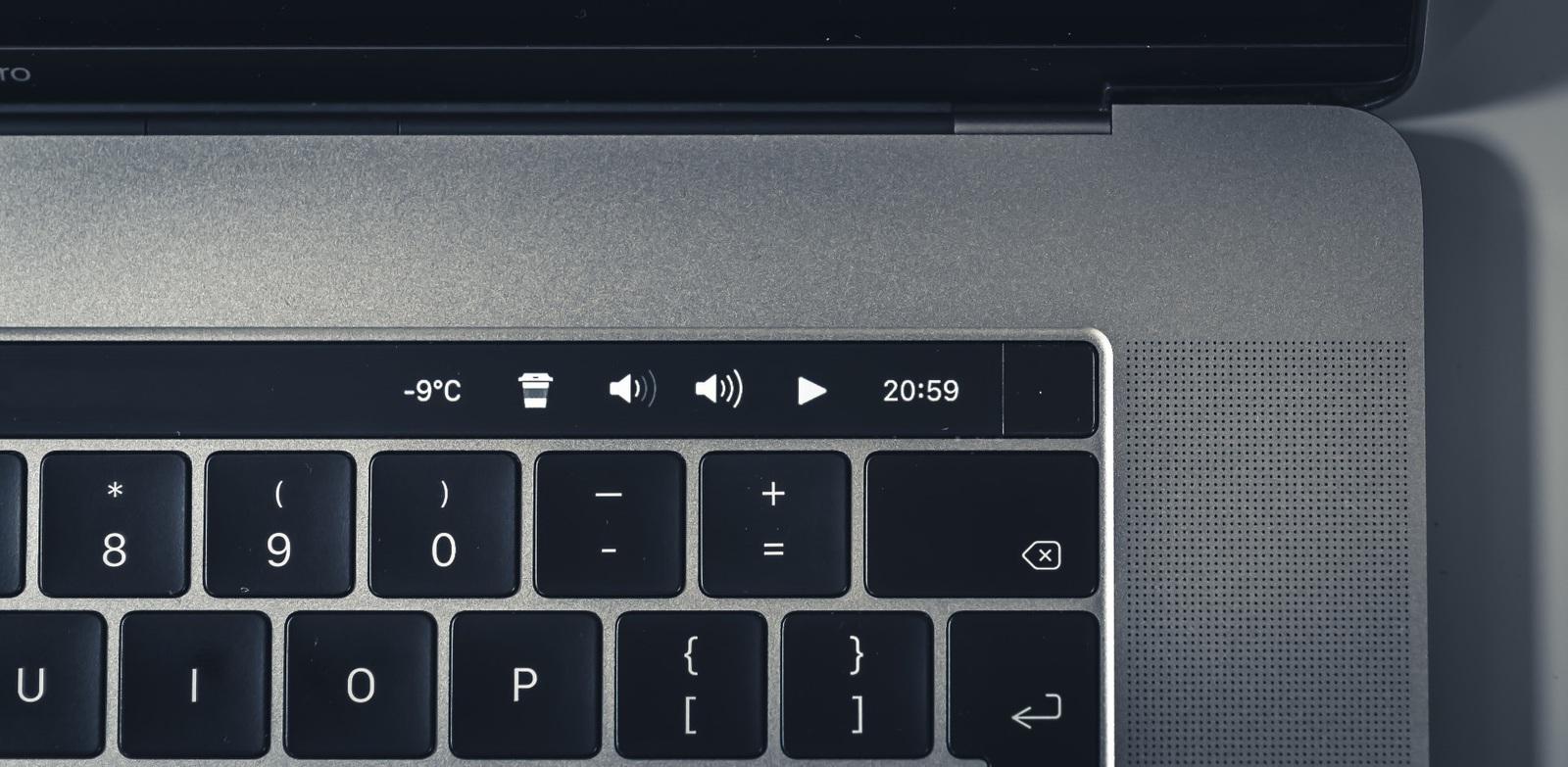 TouchBar presets created by developer vas3k