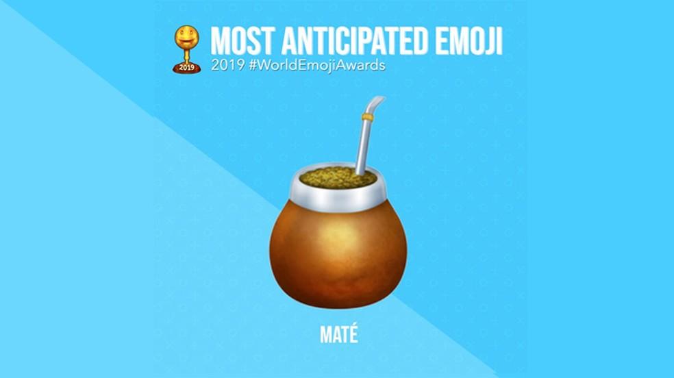 The most awaited emoji of 2019 the mate Photo: Divulgao: Emojipedia