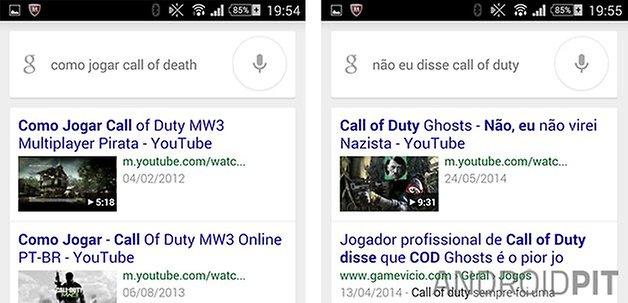 Google Now Understanding Corrections