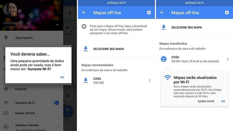 google maps offine