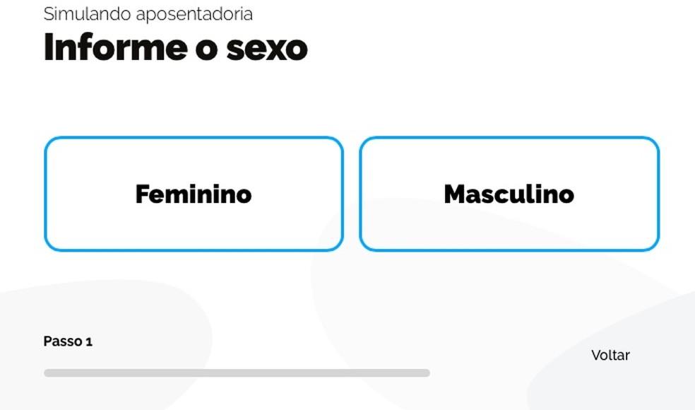 Choose gender Photo: Reproduction / Helito Beggiora