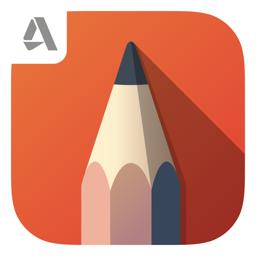 Autodesk SketchBook app icon