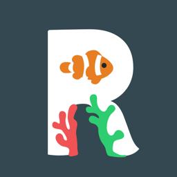 Reefminder Fish Log app icon