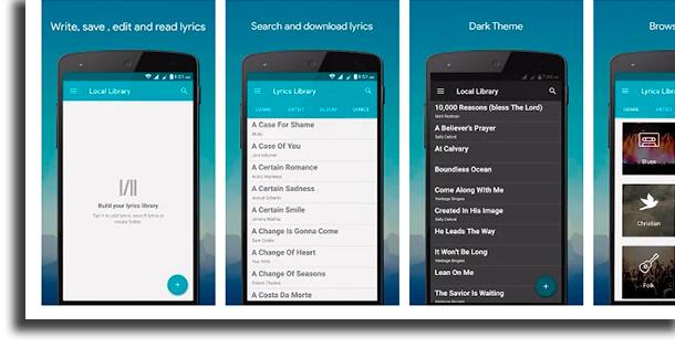 Lyrics Library song lyrics apps