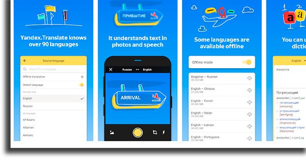 Yandex.Translate Translation Applications