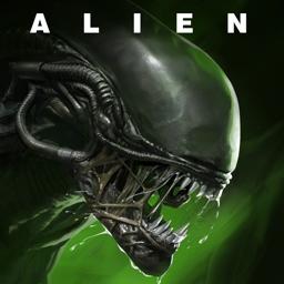 Alien app icon: Blackout