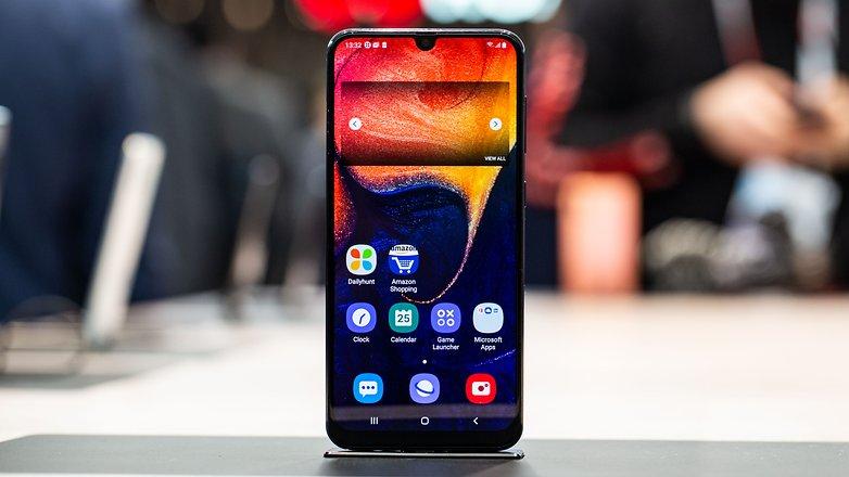 AndroidPIT samsung galaxy a50 hero