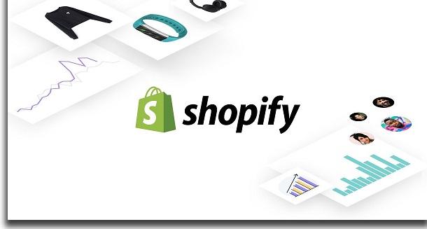 create a shopify logo
