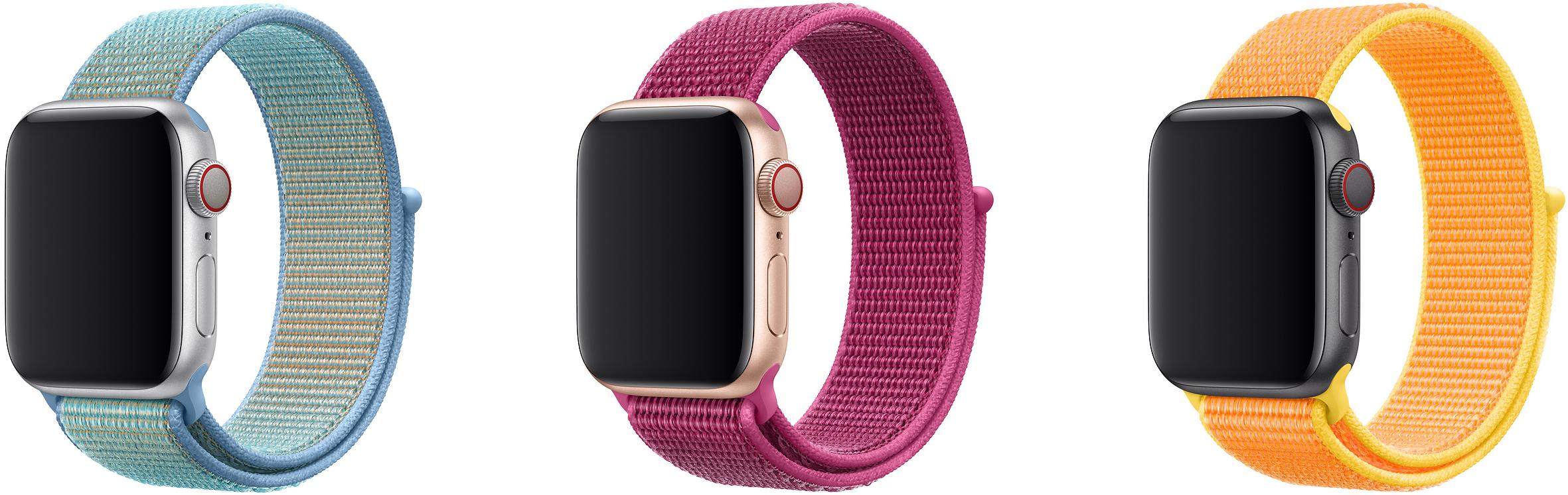 Apple Watch Sports Loop Bracelet New Colors