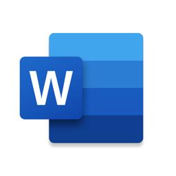 Microsoft Word app icon