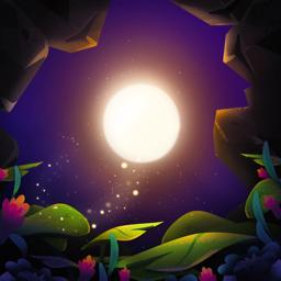 SHINE app icon - light travel