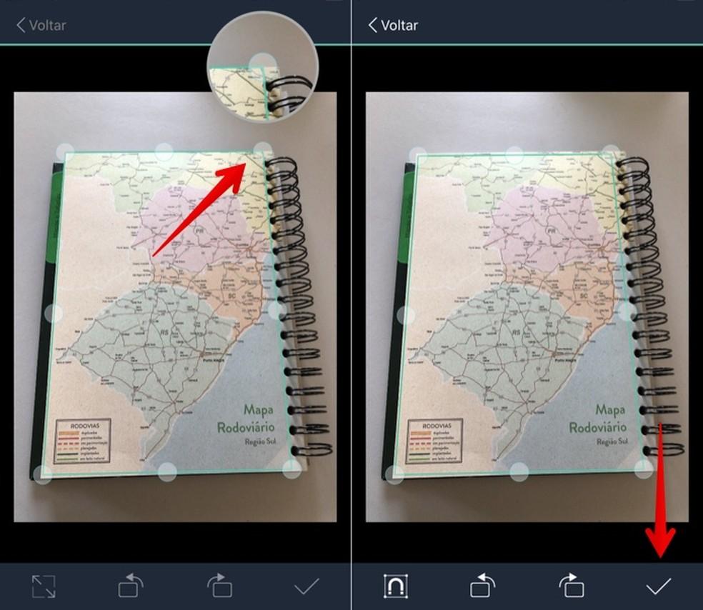 Adjusting photo frame Photo: Reproduction / Helito Beggiora