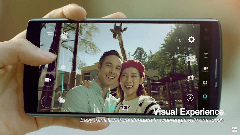 LG UX 4 0 plus