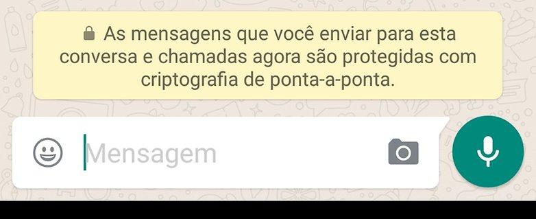 whatsapp encryption message