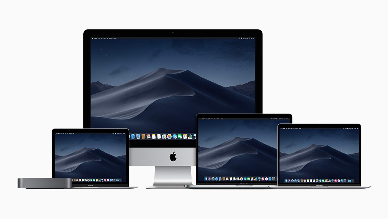 Current family of Macs (Mac mini, MacBook Air, iMac, MacBook Pro, and MacBook)