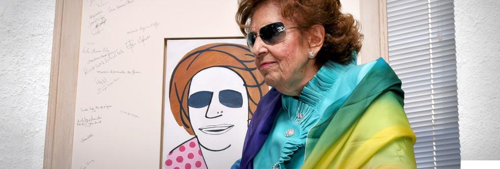 Dorina Nowill defended the rights of the visually impaired Photo: Divolgao / Fundación Dorina Nowill