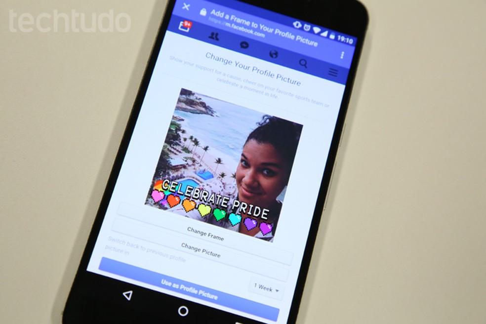 Facebook has face recognition to facilitate automatic photo tagging Photo: Melissa Cruz / TechTudo