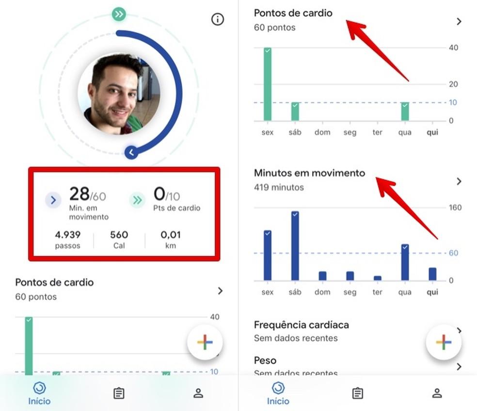 Browse Google Fit Home Screen Photo: Reproduo / Helito Beggiora