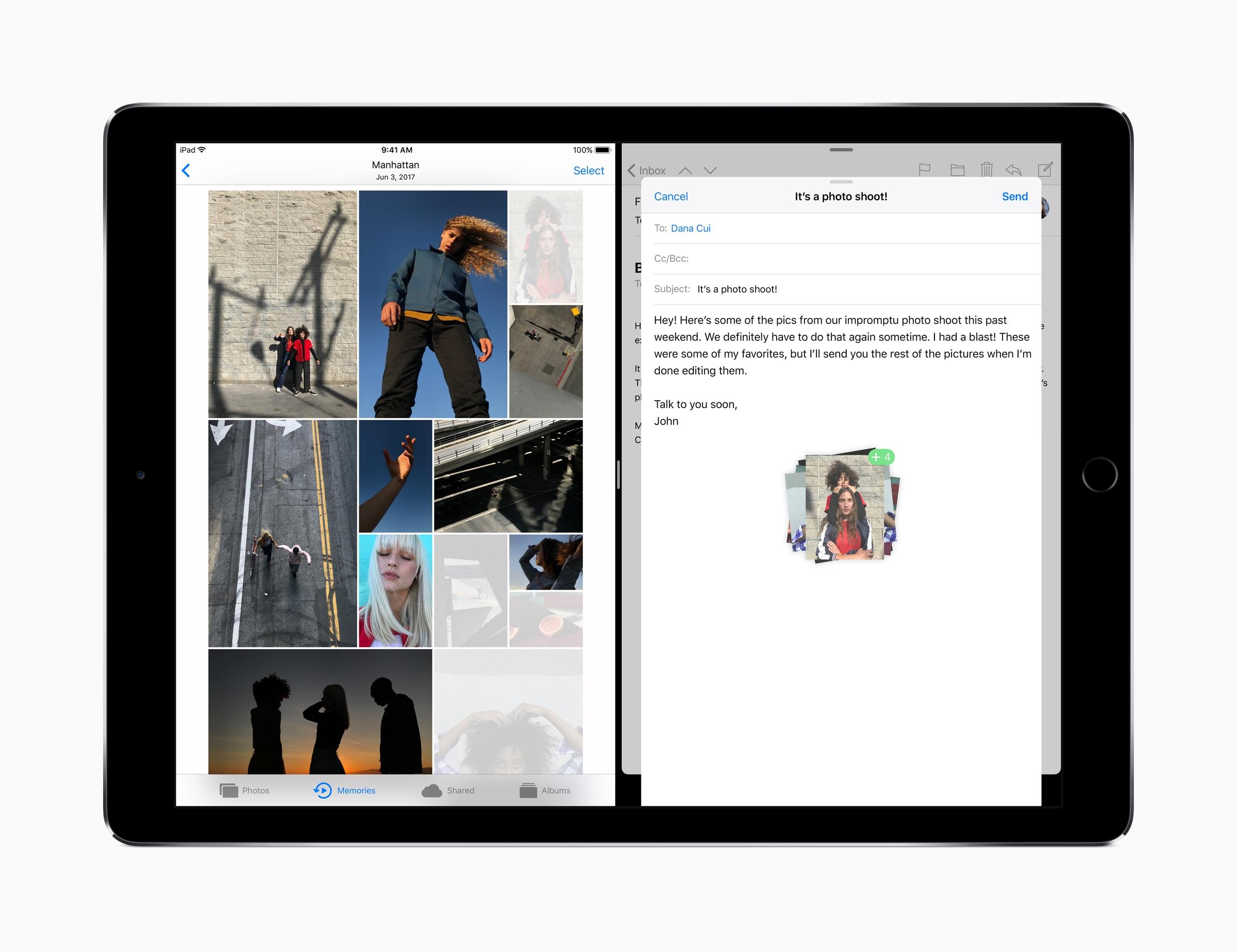 Drag & drop on iPad Pro with iOS 11