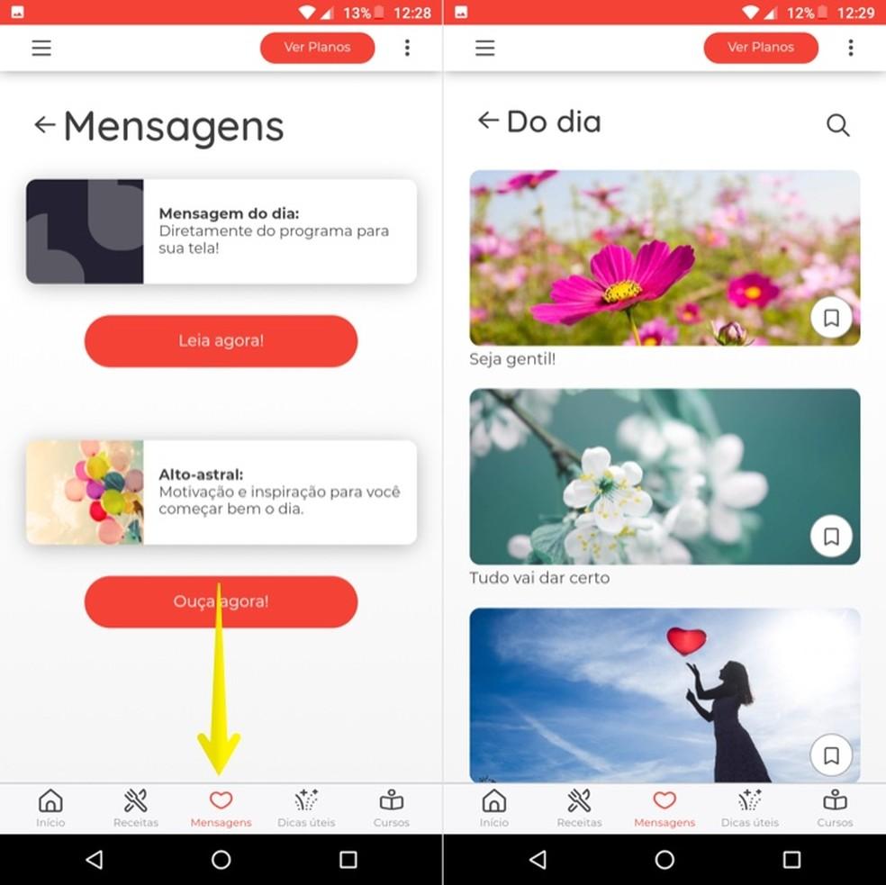 Viewing posts in Ana's App Photo: Reproduo / Helito Beggiora