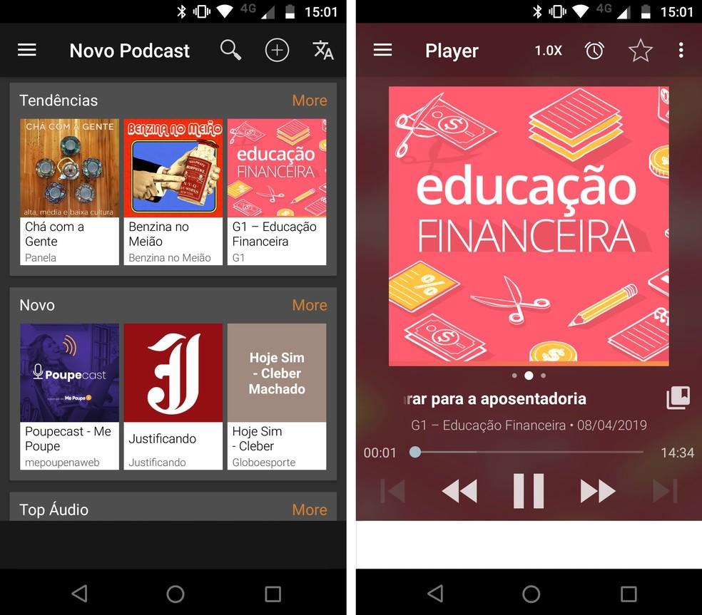 Podcast Addict exclusive for Android Photo: Reproduo / Rodrigo Fernandes