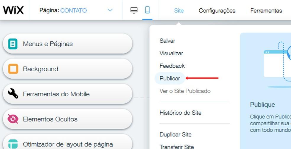Publish your portfolio online Photo: Reproduction / Mariana Coutinho