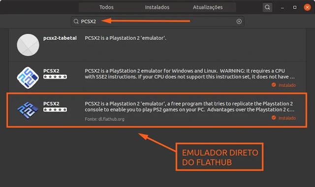 emulator-sony-playstation-ps2-play2-linux-ubuntu-mint-debian-deepin-fedora-flathub-flatpak-game-console