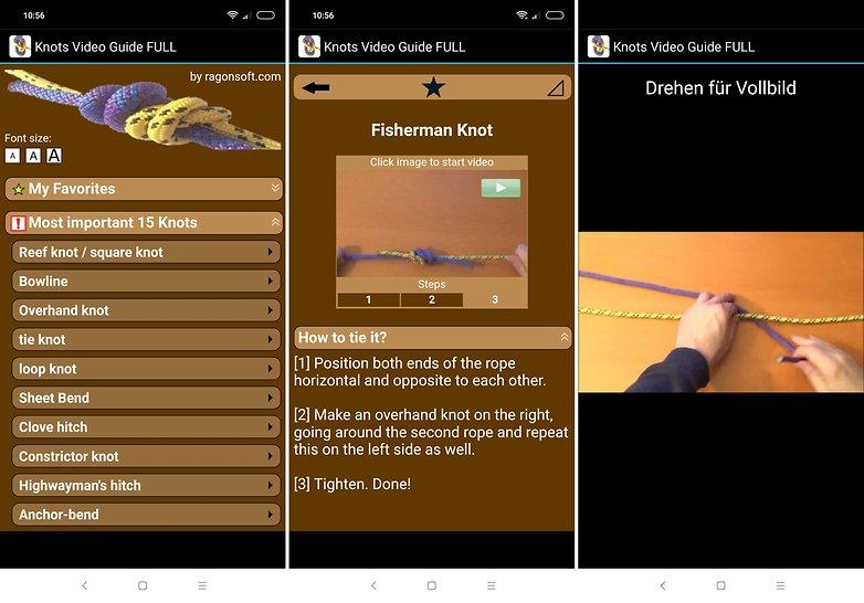 knots video guide