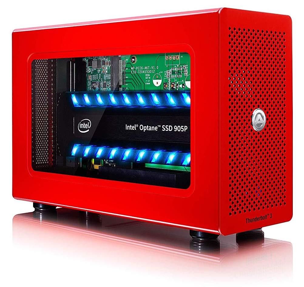 Akitio Node Lite Red, SSD External Drive