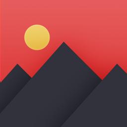 Pixomatic photo editor app icon