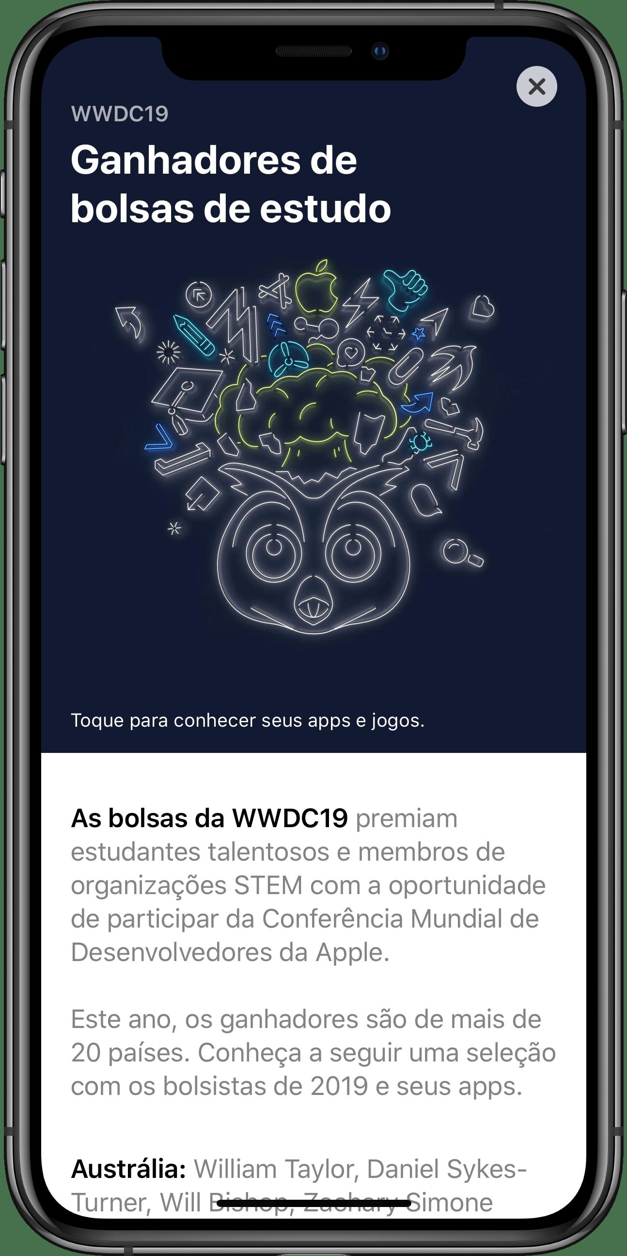 WWDC19 Student Apps