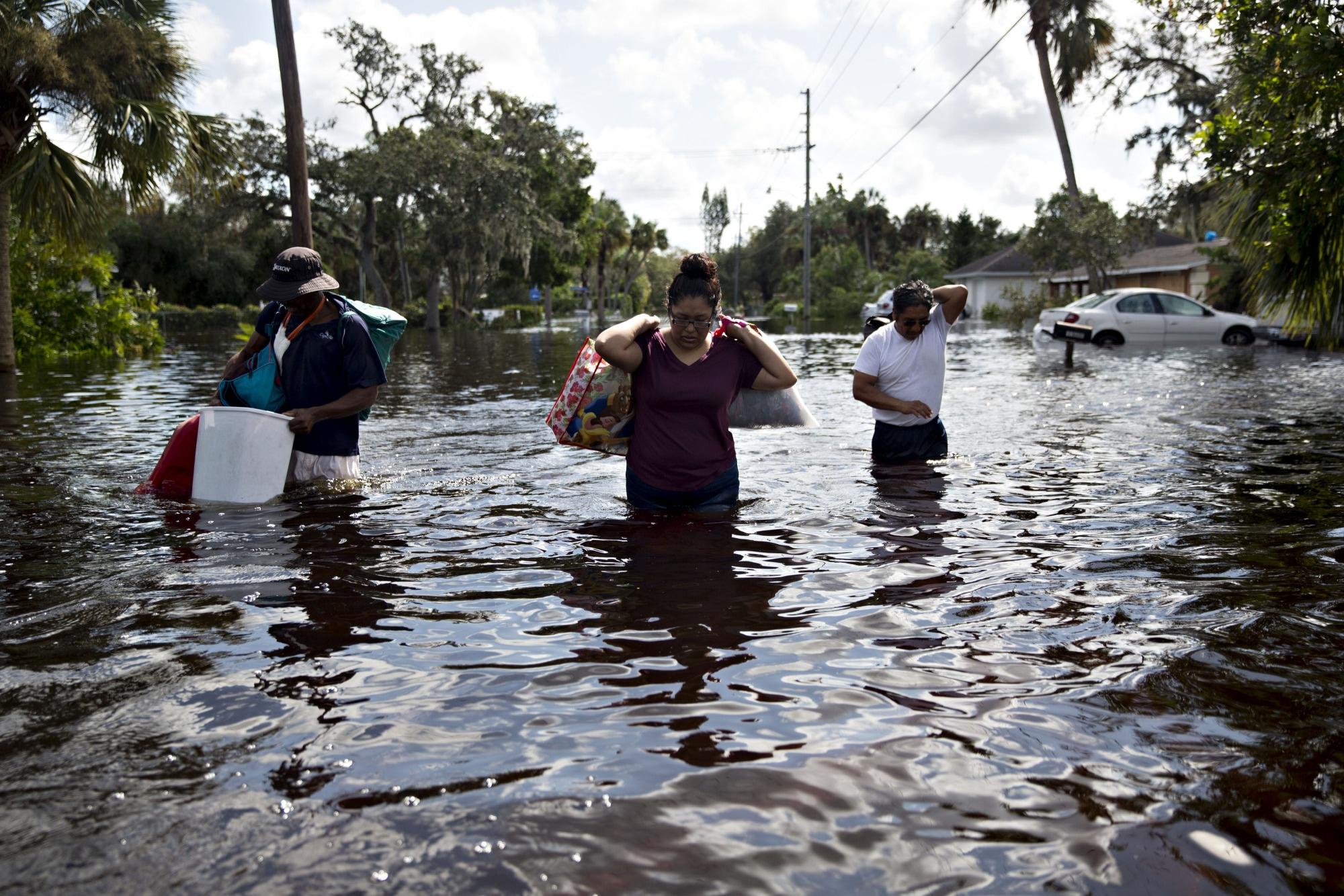 Hurricane Irma Pass in Bonita Springs, Florida | Image: Daniel Acker / Bloomberg