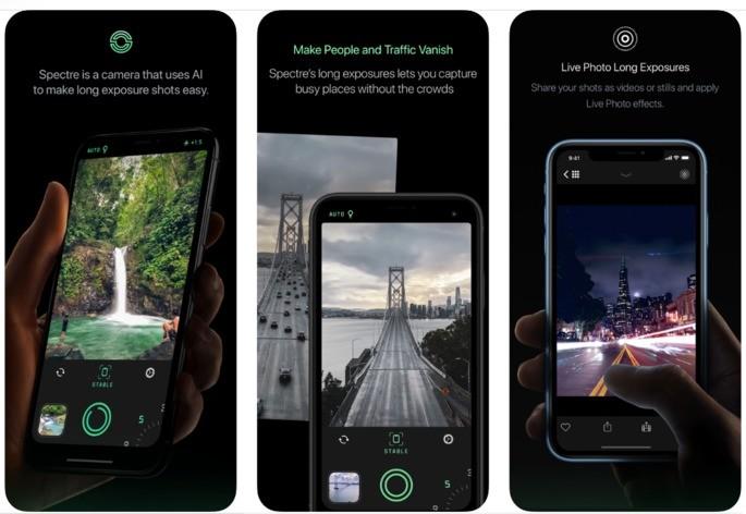 Best iphone spectre camera Apps