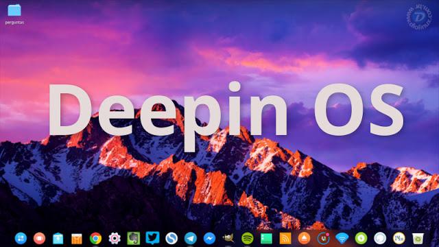 Deepin OS official PROMO