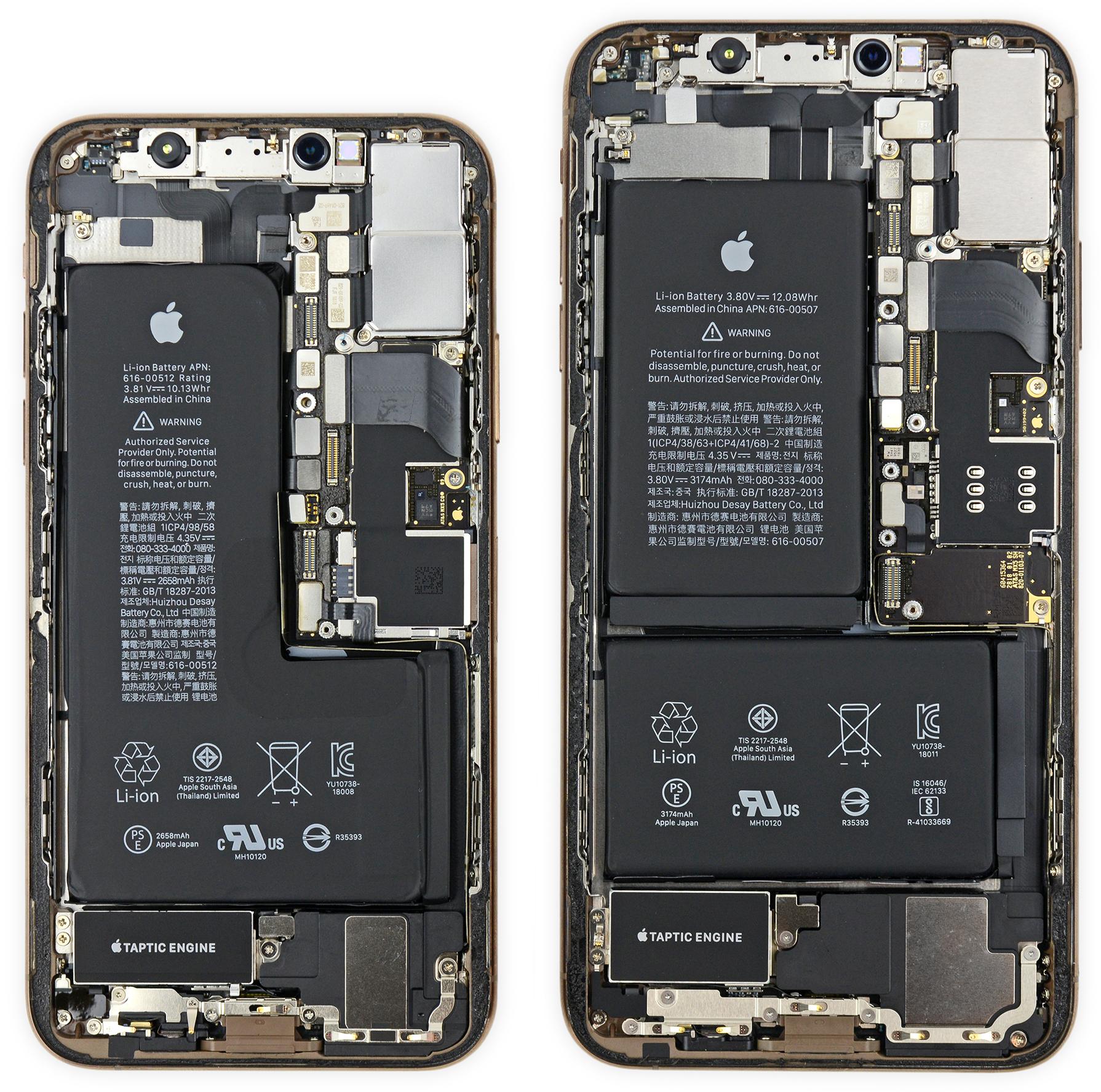 IFixit Unmount of New XS and XS Max iPhones