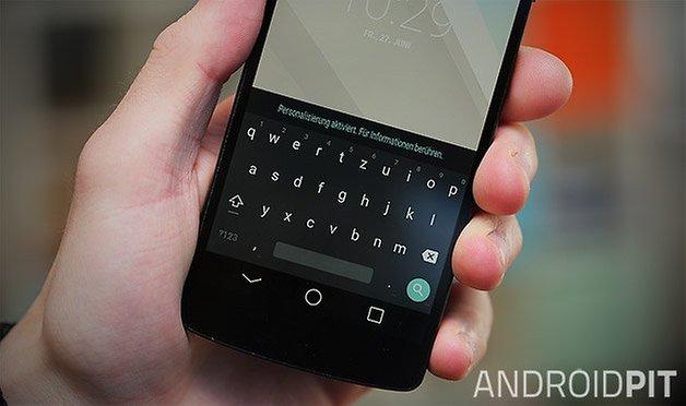 android l keyboard nexus 5 teaser